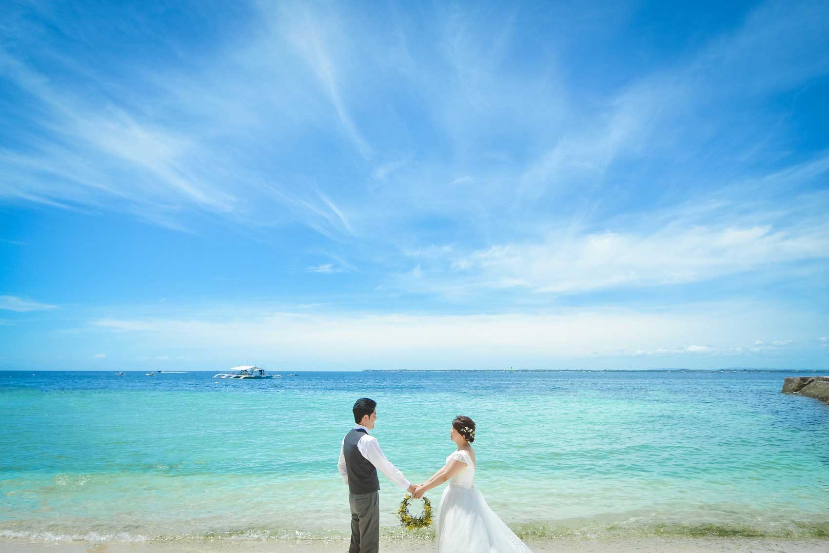 A様&S様は平成の最後に結婚写真を!